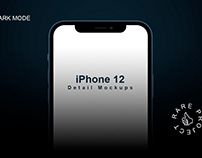 Free Detail iPhone 12 Mockups - Rare Project