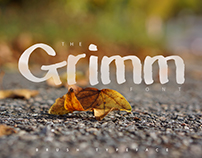 The Grimm Brush Typeface