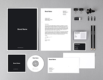 Branding Identity Mock-Ups and Templates