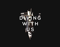 DIVING WITH US | Print & Web Campaign
