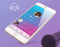 Voice Dating UI/UX iOS