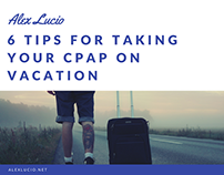 6 Tips For Taking Your CPAP on Vacation