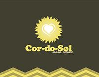 Desenvolvimento Logo - Cor do Sol Moda Intima
