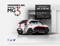MG 3 - Mini Site