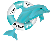 Hampton Roads Baydays Foundation Freaky Kon Tiki Logo