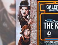 Cine Club Galeria ProjectArt (Afiche)