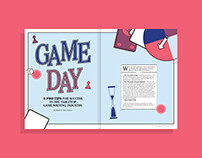 Board Game - Magazine spreads