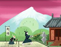 Animation Background Design Works