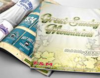 Diseño Publicitario Catalogo GSM / F&M Expressions
