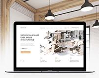 Design of interiors and exteriors