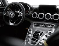 Mercedes AMG GT Interior - CGI & Retouching
