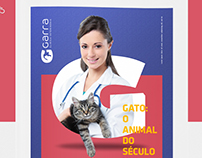 Garra veterinary clinic brand Identity