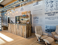 Barker and Stonehouse - Heritage Wall