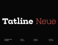 Tatline Neue — 14 Font Serif Family