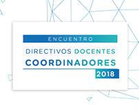 Encuentro de Directivos Docentes Coordinadores 2018