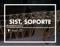 Sist. Soporte: Puente de pasta / ARQU-2310C