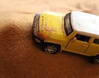 DESERT SAFARI - Dinky Car