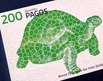 New banknotes of Galapagos