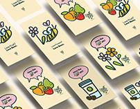 Sweet Beez Brand Redesign