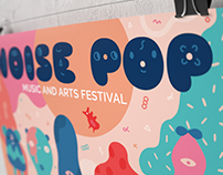 Noise Pop Music and Arts Festival - Poster Art