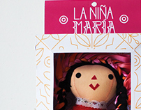 """La Niña María"" - Packaging Design"