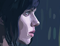 Ghost in the Shell - Digital Portrait