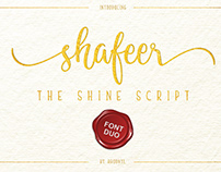 Shafeer The Shine Sript -Font Duo- (Free Download)