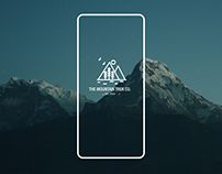The Mountain Trek Co. App Design Concept
