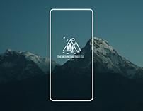 The Mountain Trek Co. App Design Concept