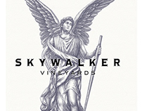 Skywalker Vineyards Winged Icon rendered Steven Noble