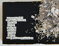 7 Blackbirds Altered Book