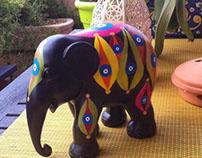 Evil Eye Elephant 002