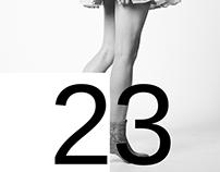 23/Typography