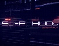 Sci-Fi HUDs Elements