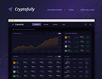 Cryptofully - crypto exchange, investing and lending.
