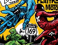 Riverside Raceway Event Poster