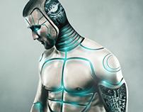 Male Cyborg Photo Manipulation I YouTheDesigner