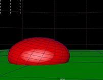 Playblast - animacja kulka