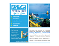 Web Design - asholidaytours.com