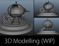 Asset & Environment Modelling- WIP Images