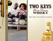 Two Keys Whiskey Concept proposal 2007