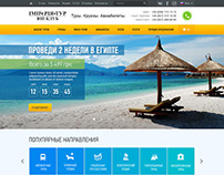 Travel Agency Website Design and Complete Development