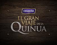 El Gran Viaje de la Quinua | Cusqueña
