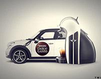 Nescafe Dolce Gusto and Mini co promo campaign