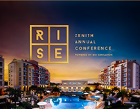 RISE Zenith Annual Conference - Branding