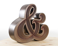 Ampersand Sculpture