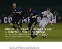 Olé Football Design Concept