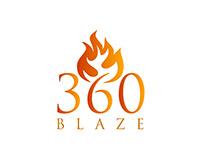 360 Blaze Event Logo and Material