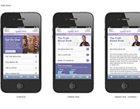 Epiduo: Mobile Site Layout & Optimization
