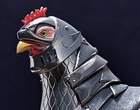 Armored Chicken - CGI